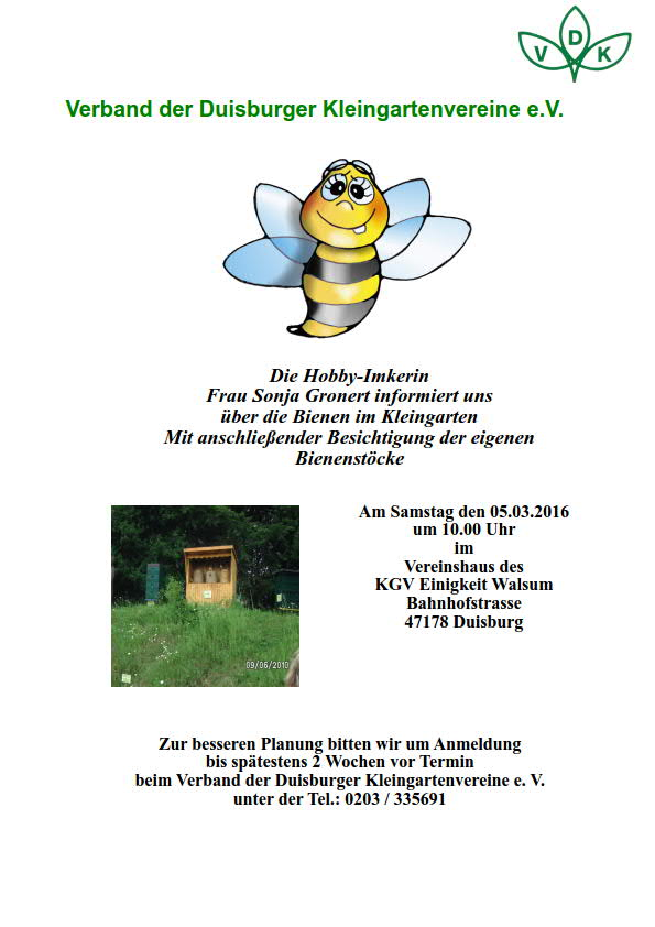 Fachberatung - Bienen