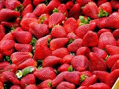 Erdbeeren, Rot, Obst